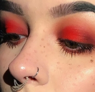 red-eyeshadow